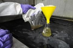 Testing-lab-fume-hood-rinsate